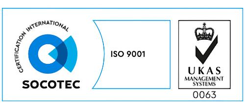 SOCOTEX ISO 9001 UKAS.
