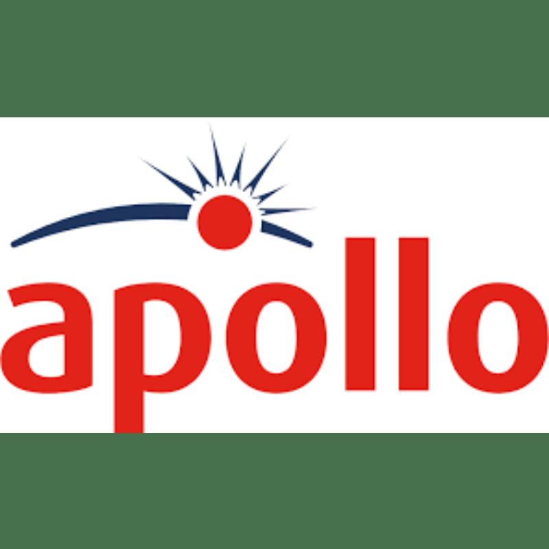 Logo. A sun on an arc. Apollo.